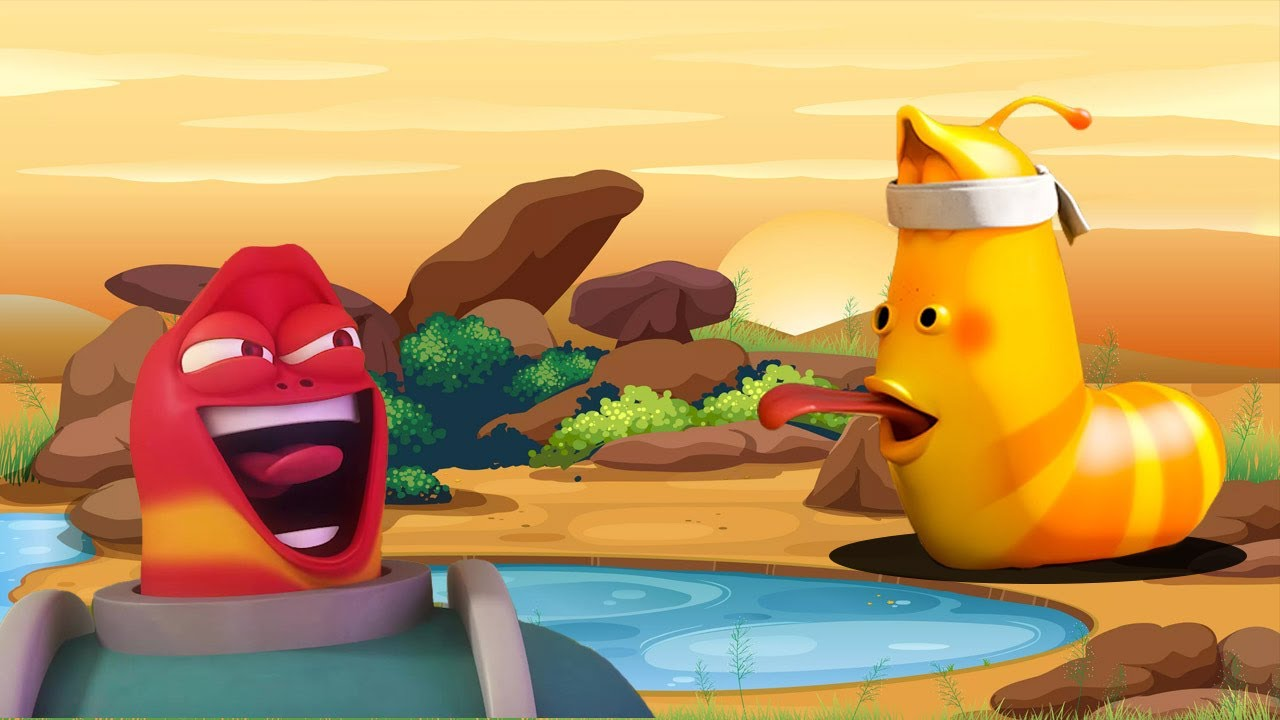 Funny Situations ? Larva Season 5 ? Comedy Movies ? New Cartoons Movie - Best Cartoon 2021