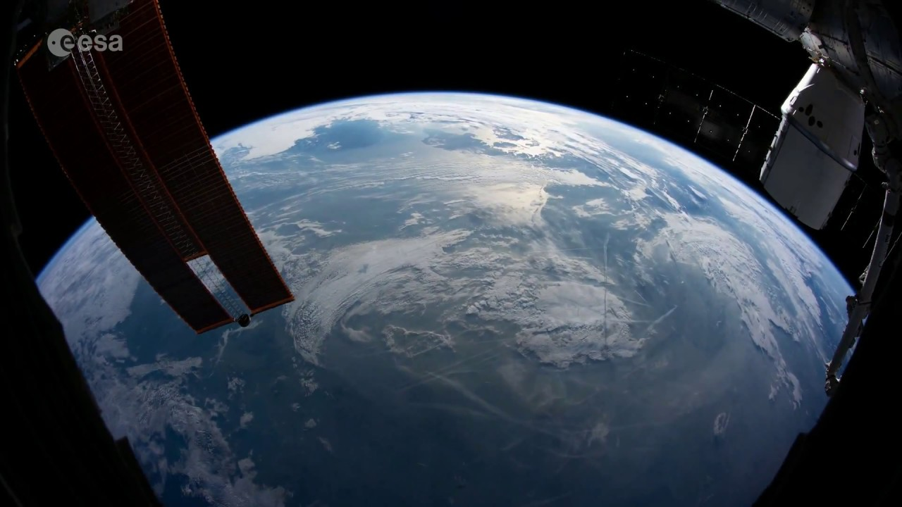 Earth From Space - Views By Alexander Gerst / Time Lapse Video