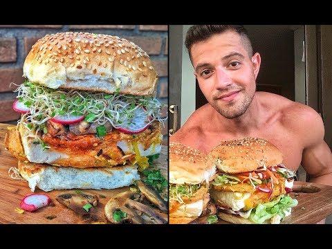 Hambúrguer de Tofu à Milanesa | Receita Vegan Fitness
