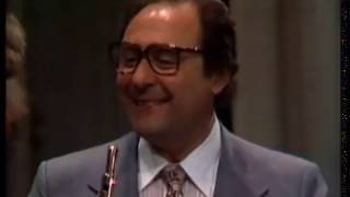 Flute Master Class with JEAN PIERRE RAMPAL, 1978 and RARE Interview (part 2/3)