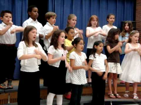 "Recess Singers sing ""Earthlings Unite"""