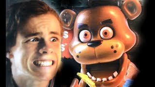 Five Nights at Freddy's Real Life Jumpscare Game Review