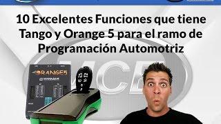 10 Excelentes Funciones de Tango y Orange