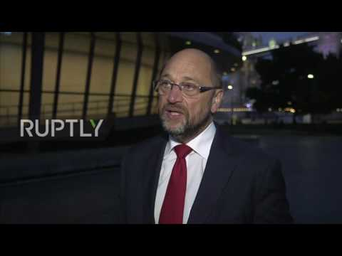 UK: Schulz urges Theresa May to begin formal Brexit negotiations