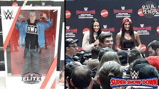 Gambar cover BELLA TWINS LIVE MELBOURNE Q&A + BECOMING A WWE ACTION FIGURE!!!
