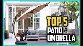 Top 5 Best Patio Umbrella In 2018