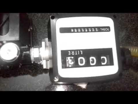 AMSPA Mechanical Turbine Type Flow Meter ( FM-120 )