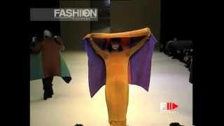 """""""Issey Miyake"""" Autumn Winter 1995 1996 Paris 5 of 7 pret a porter woman by FashionChannel"""