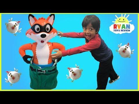 Thumbnail: Catch the Fox Family Fun Board Games for kids and Eggs Surprise Toys for winner!