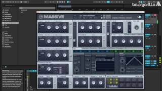 Drum And Bass High Pitched Reese Tutorial In NI Massive