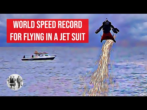 Rob Powers - Rocket man smashes world record