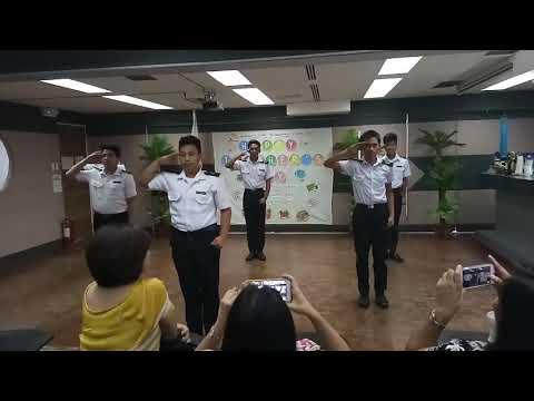 Mariana Academy of Maritime Studies, Inc.- Senior High School Students SY 2017-2018 dancing Baby Sha