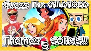 Guess The Childhood Themes!!! - Part 5