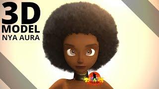 Nya Aura - Character 3D Model | Tlatso-Son