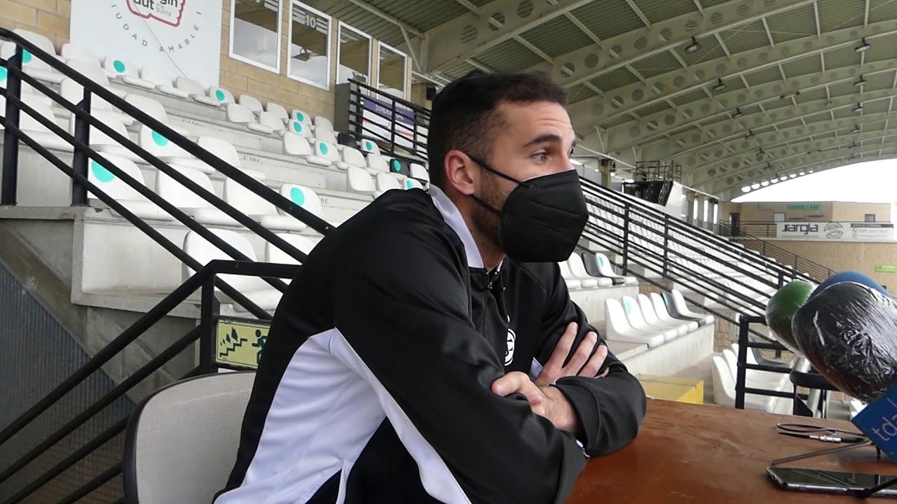 Jornada 20. Iván Pérez, tras el encuentro Real Unión-Racing