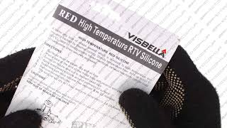 видео Герметик Abro красный 85 гр. (до 343°С)