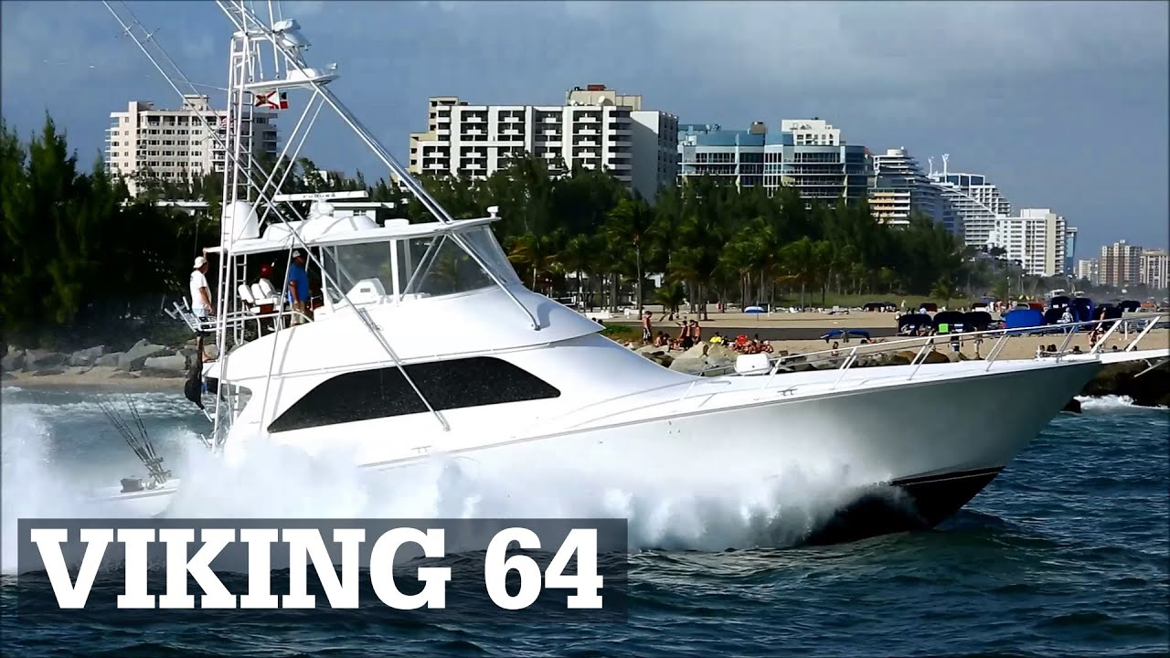 Viking 64 sportfish power in fort lauderdale judge for Viking sport fish