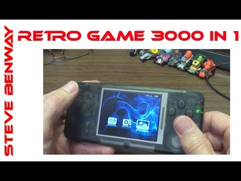 Retro Game 3000 In 1 aka Cool Baby RS-97 - System Review