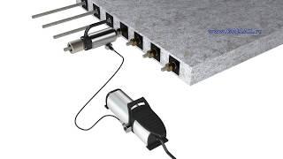 процесс натяжения арматурных канатов(процесс натяжения арматурных канатов., 2015-03-14T09:11:33.000Z)