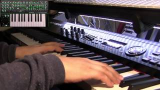 Vangelis music and Roland System 1. Chariots of Fire Suite cover, excerpt (Vangelis)