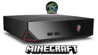 Minecraft (Demo) gameplay on Alienware Alpha
