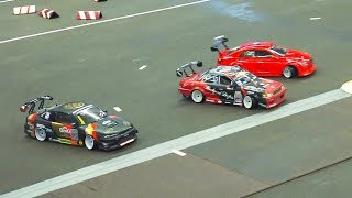 STUNNING RC SCALE DRIFT CAR RACE MODELS IN ACTION!! / Fair Erfurt Germany 2017
