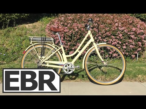 Raleigh Superbe iE Video Review - Beautiful Vintage Styled Electric Bicycle