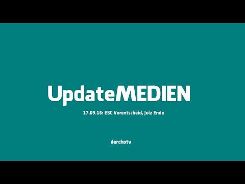 Update MEDIEN – 17.09.16: ESC Vorentscheid, Joiz Ende