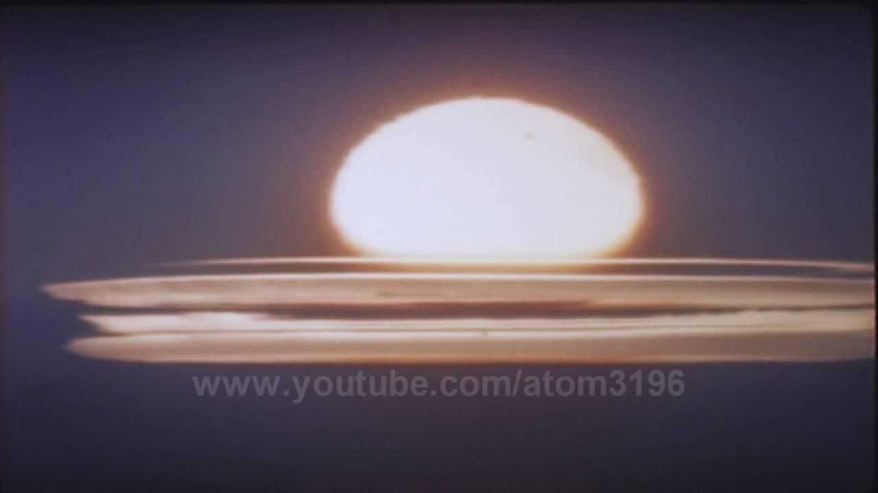 hd nuclear explosion fireball 1962 youtube