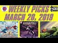 Weekly Picks for New Comic Book Releasing March 20, 2019