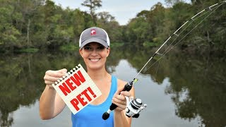 Micro Fishing for a New Pet Crappie! (Part 2)