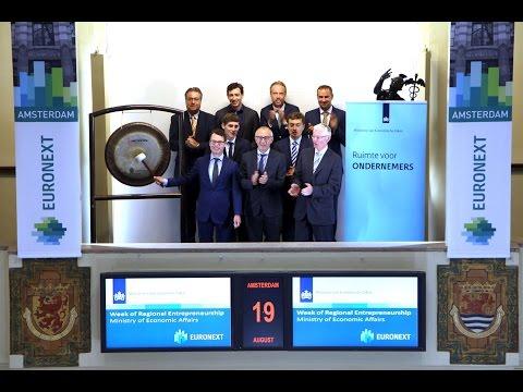 Week of Regional Entrepreneurship – Ministry of Economic affairs visits Beursplein 5