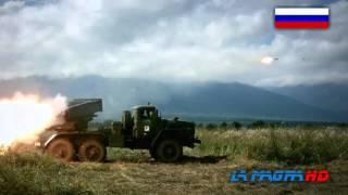 Russian Tornado-G MLRS Multiple Launch Rocket System