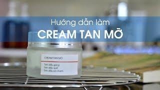 Cách làm kem tan mỡ bụng