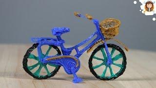 Como fazer uma Mini Bicicleta - (Caneta 3D)