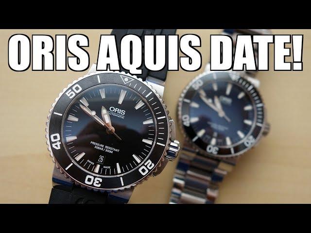 Metal vs Rubber! Oris Aquis Date 43mm Automatic Diver Review + Bracelet vs Strap - Perth WAtch #172