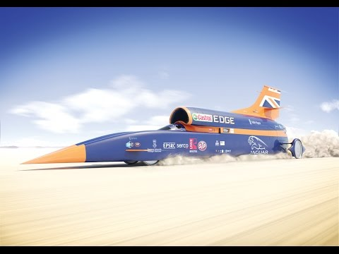 Fly through the 1,000mph BLOODHOUND Supersonic Car
