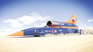 BLOODHOUND SSC is a Land Speed Racing Car designed to inspire a gen...