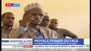 Residents of Moyale town crying foul over what they term a perennial power outage