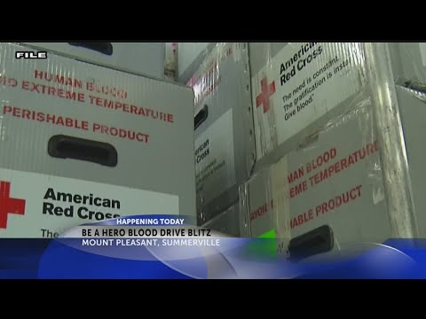 """News 2 teams up with the American Red Cross for the """"Be a Hero"""" blood drive"""