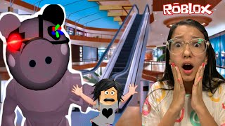 Roblox - LEVAMOS A PIGGY PARA O SHOPPING (Piggy Roblox) | Luluca Games