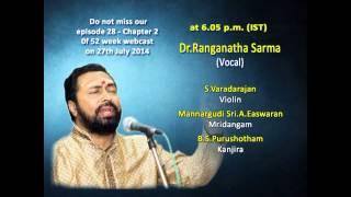 Sherthalai Dr.Ranganatha Sarma in Paalam Webcast on 27th July