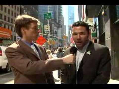 Matt McGowan In Times Square, Day 1 SES NY 2008