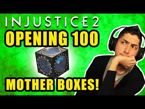 OPENING 100 MOTHER BOXES! - Injustice 2
