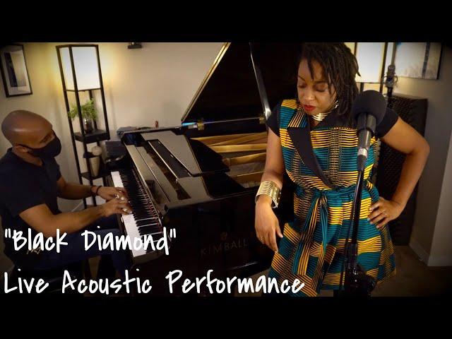 Black Diamond Live Acoustic Performance by Kristine Alicia | Featuring Allen C. Paul