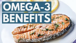 5 Science-Based Benefits of Omega-3 Fatty Acids
