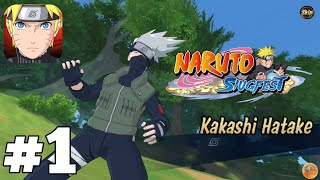 Naruto: Slugfest 3D OPEN WORLD MMO RPG Gameplay (iOS-Android-APK) #1