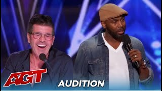 Ty Barnett: Comedian Wins Over The Judges With Funny DATING Advice