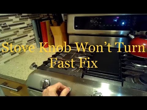 Gas Stoves & Ovens : How to Fix a Knob on a Gas Stove - YouTube