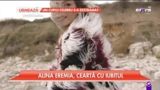 Alina Eremia, ceartă cu iubitul. Totul a fost filmat!